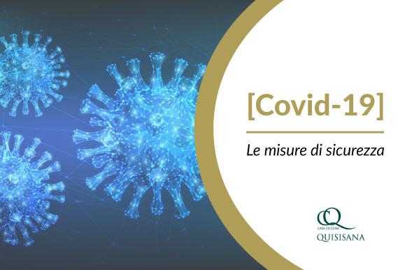 Covid19 Misure di sicurezza per l'ingresso in clinica